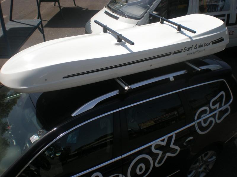 Autobox SurfBox S-800 stříbrná metalíza