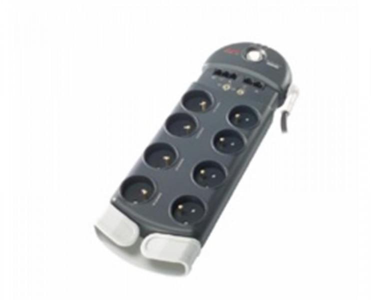 Přepěťová ochrana řada PF8, APC, základní 230V s koaxiálním kabelem + telefon, 8 zásuvek, délka přívodního kabelu 3m