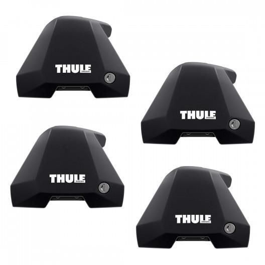 Thule Edge Clamp 7205, 2 kusy tyče Thule 7211B WingBar Edge 680 Black  68 cm a montážní kit