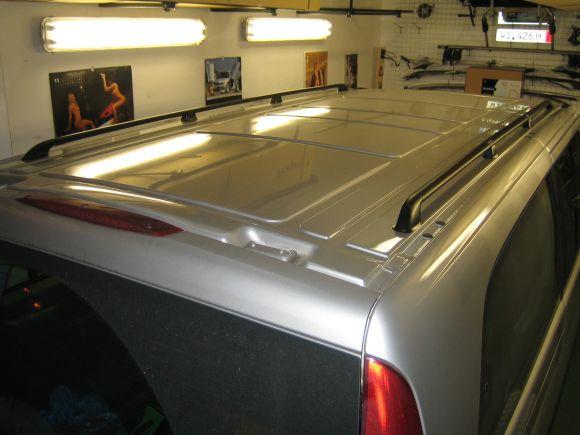 Podélníky Mercedes Vito střední a dlouhé, 2004->