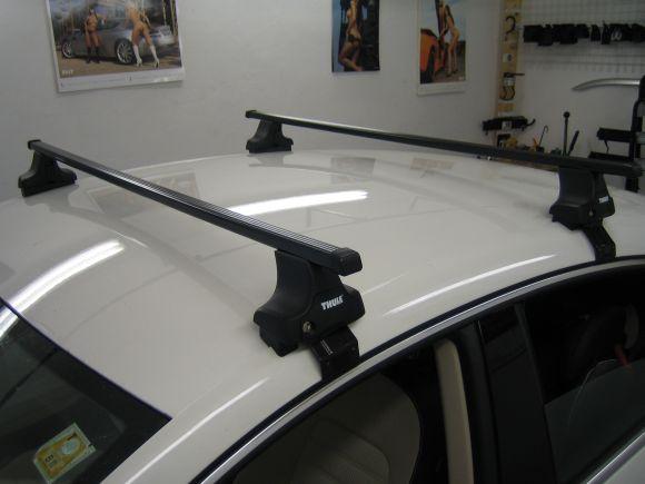 Nosič Thule Audi A2 5dv., 00->05 nezamykací