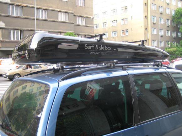Autobox SurfBox S-800 stříbrný