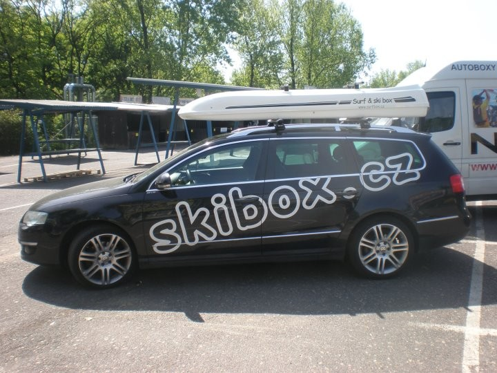 Autobox SurfBox MDS bílý
