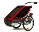 Půjčovna vozíku za kolo Chariot CX 1red