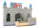 Skákací Zábavný hrad se skluzavkou